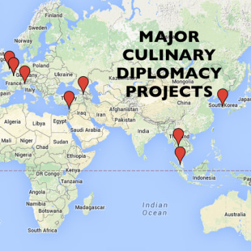 Major Culinary Diplomacy Projects Worldwide